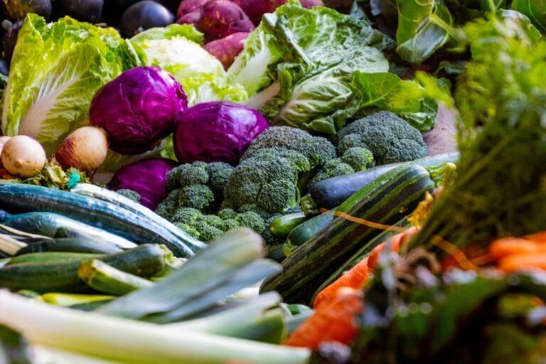 Basenüberschüssig, Gemüse