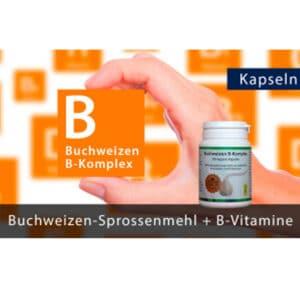 B Vitamine komplex Kapseln